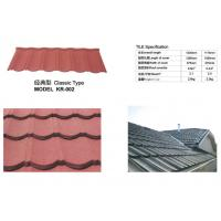 Quality Long Span Aluminium Roofing Sheets Nigeria Color Stone Chip Coated 1300mm Length for sale