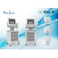 Quality Hifu wrinkle removal and face lift machine with three cartridegs for sale