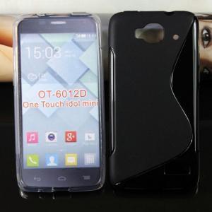 Quality one touch idol mini 6012D tpu gel case cover skin housse funda carcasa coque Custodia for sale