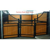 China Equipment Suppliers Water Proof Coating Horse Stable Fronts Door Gates Plans on sale