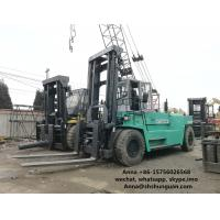 Quality 6D24 Used Mitsubishi Forklift Trucks , 30 Ton Forklift 9200 X 3300 X 4000 Mm for sale