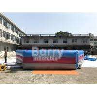 Man Standing Meltdown Rotating Inflatable Sports Games with Controller , Kids