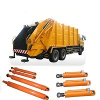 Quality Sanitation Vehicles Garbage Truck Hydraulic Cylinders / Double Acting Hydraulic Cylinders for sale