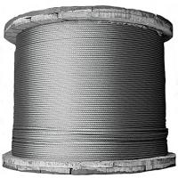 Quality ASTM A475 and A363  Aircraft galvanised wire rope 7x7 GAC Whole Reels for sale