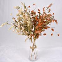 Quality The simulation flower,Artificial flowers,Crepe paper grass flower ,Dried flowers, hardcore cotton ,pine cone for sale