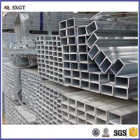 Quality galvanized rectanglar steel tubes zinc coating a53 gi pipe for sale