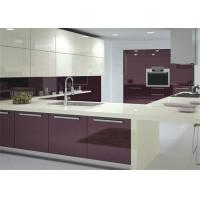Modern High Gloss Lacquer MDF Kitchen Cabinets With White ...