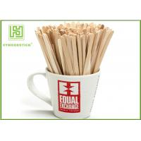 Flat Hot Chocolate Stir Sticks 140mm Standard , Biodegradable Chocolate Swirl Sticks