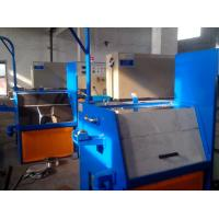 Quality Inlet Diameter 2.5mm Aluminum Wire Drawing Machine Cast Iron Machine Structure for sale