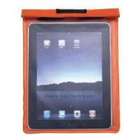 Quality Fashion Plastic Waterproof Pouch Bag High Safety For Tablet PC / Ipad for sale