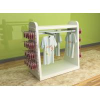 Quality Color Printed Children'S Clothing Display Racks / Baby Clothes Display Stand for sale