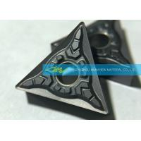 Buy CNC Carbide Turning Inserts For Stainless Steel Finishing Triangle Carbide Inserts at wholesale prices