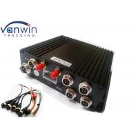 Quality SD Card MDVR with wifi 3G 4G GPS Support 4CH Playback Mobile DVR for sale
