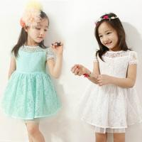 Quality Girl Party Dress lace children dress(6-15 year children clothes) for sale