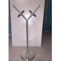 Quality Commercial Stainless Steel Products Metal Shopping Bag Display Stand for sale