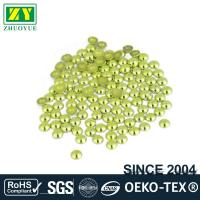 Quality High Color Accuracy Flat Back Metal Studs Good Stickness With Even Shinning Facets for sale