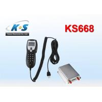 Quality GSM850 / 900 / 1800 / 1900MHZ Vehicle GPS Tracker With RS232 Port Work With Handset For Two Way Voice Communication for sale