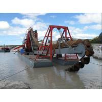 China 100 cubic meter per hour  bucket chain sand dredging machine  for river and lake dredging and reclamation on sale