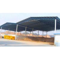 China Light Steel Frame Structure Open Bays Sheds For Construction Site Building Material on sale