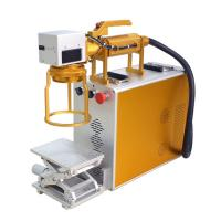 Quality Hand Held Mini Laser Engraving Machine For Metal For Product Date Serial Number for sale