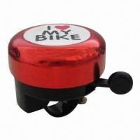 China Bicycle bell, made of aluminum top on sale