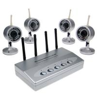 Quality 2.4GHz Digital Wireless Camera IR DVR Home Security Kit 150 Meter for sale