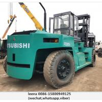 Quality Mitsubishi 30ton Used Diesel Powered Forklift 1500mm Fork Length for sale