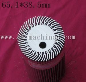 Quality Item 141,customized round extruded aluminum profile heatsink in china, cooler for led lights,round heatsink in china for sale