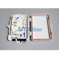 Quality FTTH Optical Fiber Termination Box With 4port SC LC Fiber Optic Connectors for sale