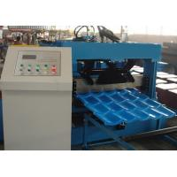 Quality Roof Tile Roll Forming Machine 22 Forming Stations For Metal Roof Panel for sale