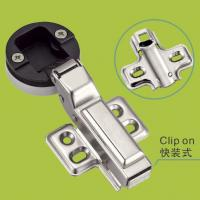 cold rolled steel glass doors hinge with color decorative