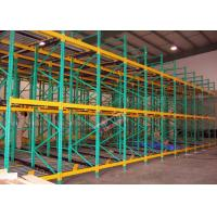 Buy cheap Heavy Load Dynamic Flow Pallet Rack Q235B Steel Storage Racking For Cold Supply Chain from wholesalers
