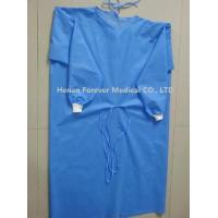 Quality Hot Sale Disposable CPE Plastic Gown Thumb Hole Hospital Gowns for sale