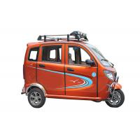 Quality CDI Ignition Gas Powered 3 Wheel Trikes Enclosed 150 CC Engine For Passenger for sale