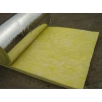 Quality 25 mm - 185 mm Thickness Glass Wool Blanket With Aluminum Foil Water Proof for sale