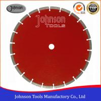 Quality 300mm Concrete Saw Blade Stable Dry / Wet Cutting High Cutting Efficiency for sale