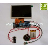 DIY 5 inch LCD screen video module for video brochure /video greeting card/video book