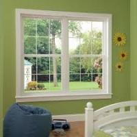 Quality Aluminum Profile Double Glass Single Hung Sliding Window With Insect Screen for sale