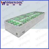 Quality Commercial island refrigerator supermarket island freezer island display refrigerator for sale