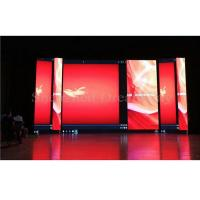 Quality Waterproof Large Outdoor LED Screen Rental P4 5V 60A Power 1.6mm Thickness PCB for sale