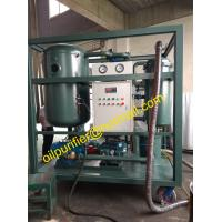 China Online Steam Turbine Oil Recycling and Purification Plant by Coalescing Dehydration vacuum cleaning plant on sale