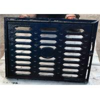 China Durable Metal Drain Covers Grates Ductile Cast Iron For Highway / Airport on sale