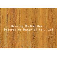 Quality Strong Adhesive Wood Grain Film For PVC Decorative Board Corrosion Resistance for sale