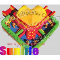 Quality hot sell inflatable jumper slide combo COM040 for sale