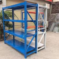 Quality Banner Boltless Warehouse Storage Racks / Movable Tier Steel Metal Shelving Racks for sale