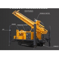 China 260m 300m 350m 450m Diesel Crawler Mounted Drill Rig on sale