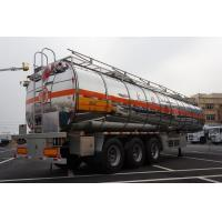 Quality CIMC aluminum alloy 4000 gallon 3 axles gasoline fuel tanker semi trailer with pump for sale