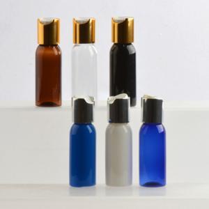 Quality 1oz/30ml Shoulder Pet Bottle Press Cap Bottle for Cosmetic for sale