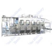 Quality 600 BPH 5 Gallon Mineral Water Bottling Machine Auto Inner Washing / Capping for sale