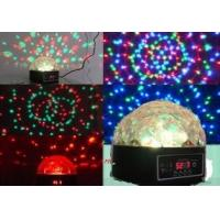 Quality 9W LED MINI crystal ball,9W LED stage light for sale